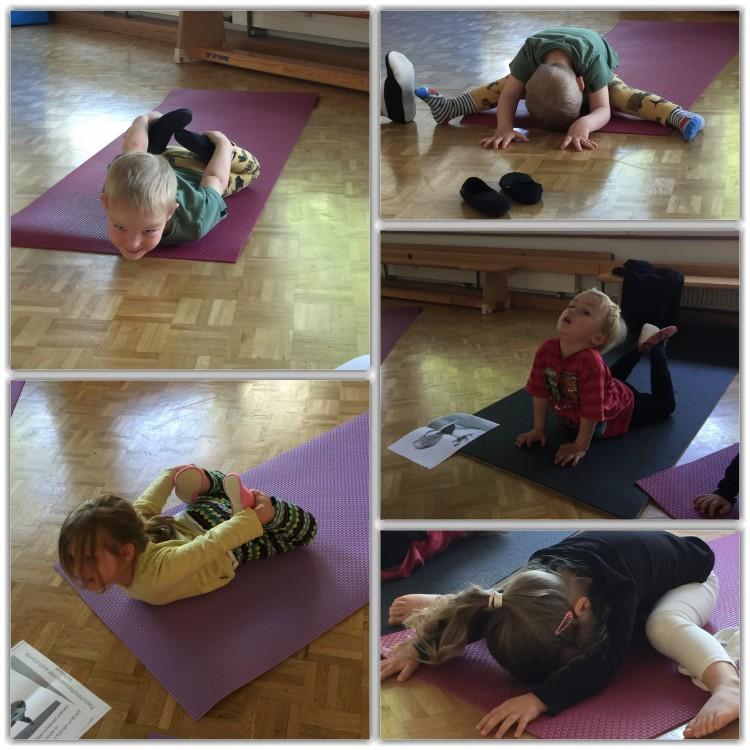 unsere erster Teil vom Yoga lernen ist nun zu Ende, wir machen Sommerferien, alle Kids haben ein Diplom bekommen, Stolz