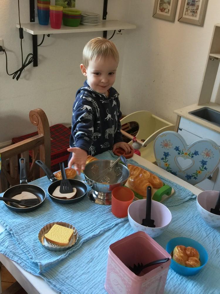 Der junge Koch Max