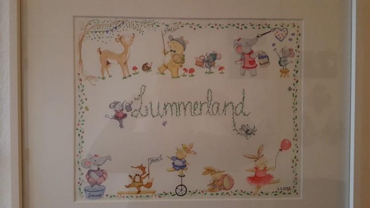 Danke an Lourdes Füssel Gaspart, für das wunderschöne Kunstwerk